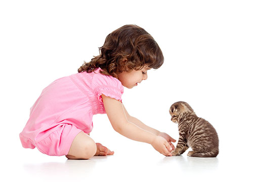 child-with-cat